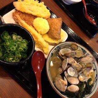 アサリバターうどん(丸亀製麺)