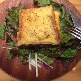フレンチサンド  ツナマヨ&チーズ(Neighbors Brunch with パンとエスプレッソと)