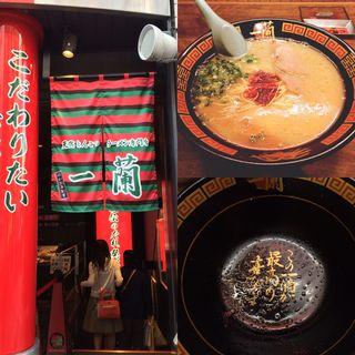 らーめん&替え玉(一蘭 三宮店 )