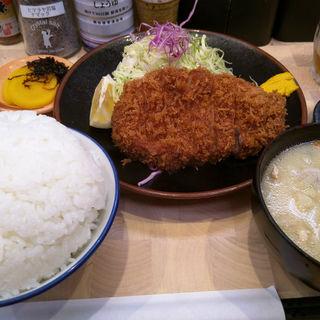 肩ロース定食(檍 (あおき))