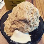 タピオカミルクティーかき氷(ICE MONSTER グランフロント大阪 )