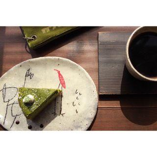 抹茶のチーズケーキ(カフェ ケシパール )