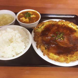 海老玉定食(中国北方料理 知味観 )