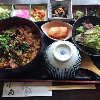 炙り米沢牛のひつまぶし(米沢牛焼肉 仔虎 仙台駅前店 (コトラ))