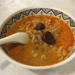 激辛担々麺(中国ラーメン揚州商人 新横浜店 (チュウゴクラーメン・ヨウシュウショウニン))