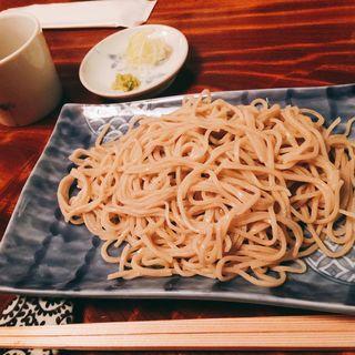ざる蕎麦(土合やぶ)