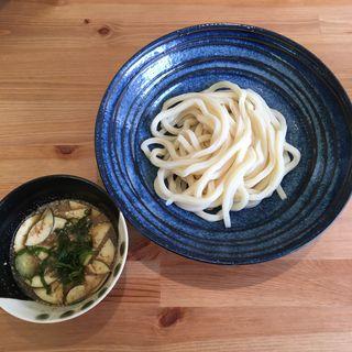 冷汁風ゴマだれつけ麺(まめ茶和ん (マメチャワン))