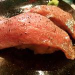 肉寿司(鉄板焼 やっぱ。渋谷肉横丁 )