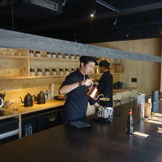 ハンドドリップコーヒー(artless craft tea&coffee)