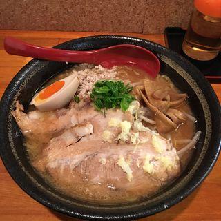 半肉玉味噌ラーメン(らーめん 味噌ガッツ )