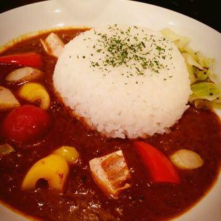◆季節の素揚げ野菜チキンカリー(CURRY BAR シューベル (カレーバーシューベル))