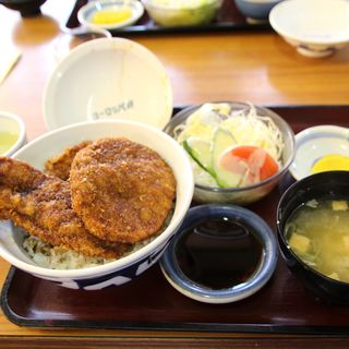 三種盛スペシャルカツ丼セット(ヨーロッパ軒 総本店 )