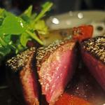 熟成肉のステーキ(Xató burrata & steak (シャト ブッラータ アンド ステーク))