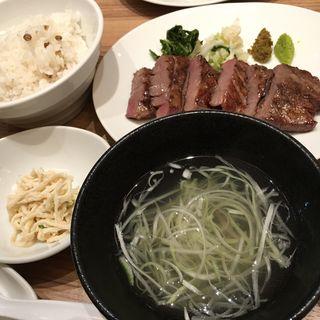 牛タン炭火焼き定食(杜 )