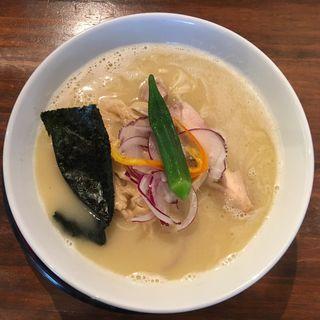 濃厚鶏白湯そば(葵 )