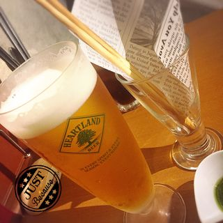 Heartland 生ビール(ダブル レインボー カフェ (DOUBLE RAINBOW CAFE))