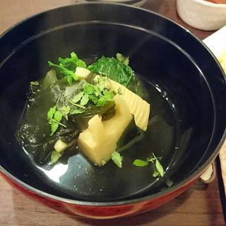 若竹煮(蕎麦見世のあみ (そばみせのあみ))