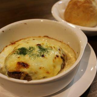 クリームチーズハンバーグ(meong食堂 (メオン))