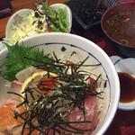 漁師の海鮮丼定食