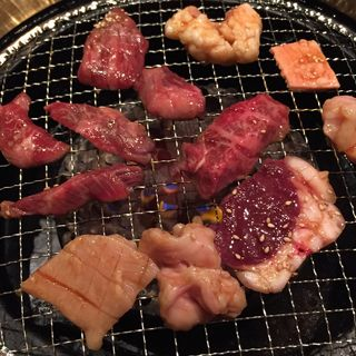 焼肉、ホルモン定食(京都ホルモン 梅しん (うめしん))