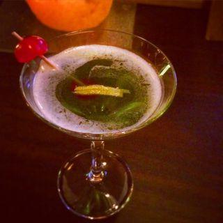 松江カクテル縁雫(えにしずく)(寺町Bar Cocktail&Heart)