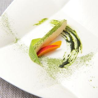 鮮魚のムース(レストラン ツキダテ (RESTAURANT TSUKIDATE))