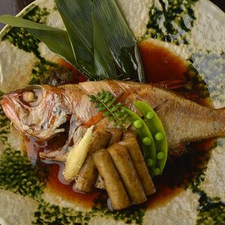 金目鯛の煮付け(ソウテン)