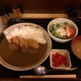 ひれかつカレー(北陸料理しんえつ )