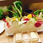 日替わり産直野菜のバーニャカウダ