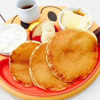 お絵かきパンケーキプレート(バター イオンモール伊丹 (Butter))