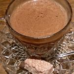 ホットチョコレート(アメリカン・ヘーゼルナッツ)