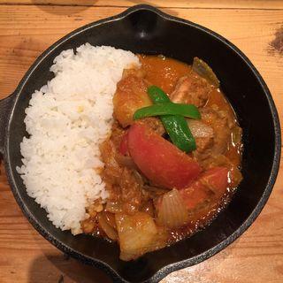 トマトと生姜のチキンカレー(キャンプエクスプレス 武蔵小杉東急スクエア店 (camp express))