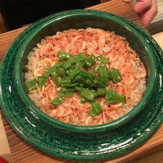 桜海老の炊き込みご飯(山中湖 菜庭料理 尚起)