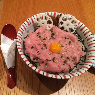 ねぎとろ丼(MARINE & WALK 玉寿司)
