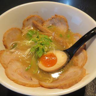 鶏塩ラーメン 焼豚トッピング(麺屋 船橋 )