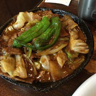 和牛のホイコーローカレー(野菜を食べるカレー camp)
