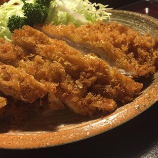 上ロースカツ定食(とん吉)