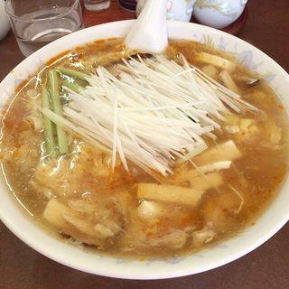 酢ノキイタ辛いソバ(鶏舎 (チイシャ))