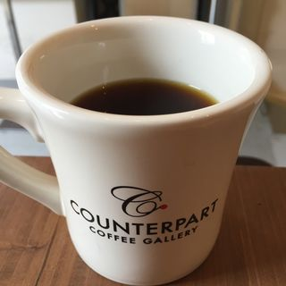 ハンドドリップコーヒー(カウンターパート カフェ ギャラリー (Counterpart Coffee Gallery))