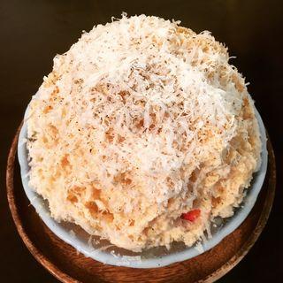 イチゴとチーズと黒胡椒(イタリアン✖富士山天然氷 シロッポ )