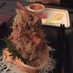 ズワイガニの蟹味噌和え(宇田川 紫扇 (シセン))