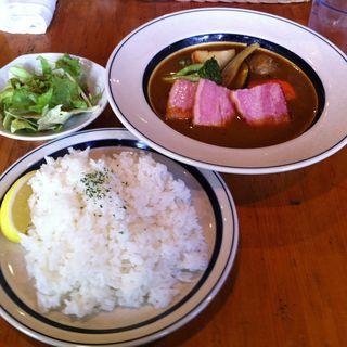 厚切りベーコンと野菜のスープカレー(みやび屋 (MIYABIYA))