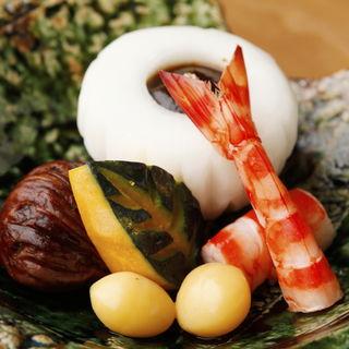 季節の煮付け(鮨すずき 新宿店 )