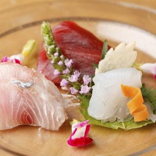 おまかせ3種盛り(鮨すずき 新宿店 )