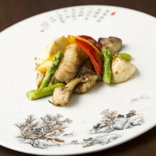 ホルモン野菜炒め(古谷 )