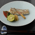 鮮魚の塩焼き