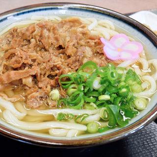 肉うどん(滝音 (たきね))