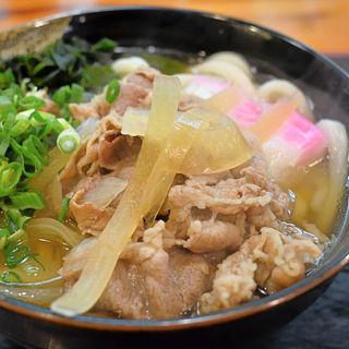 肉うどん(三里うどん )