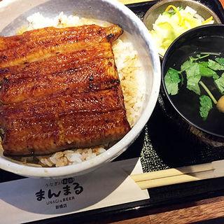 うな丼(うなぎと麦酒のまんまる 新橋店)