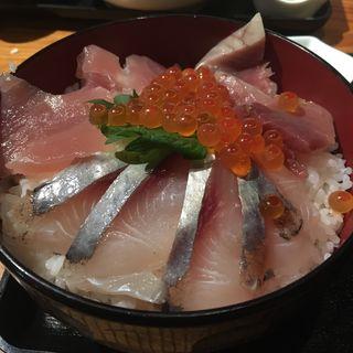 海鮮丼セット(居酒屋 福すけ )